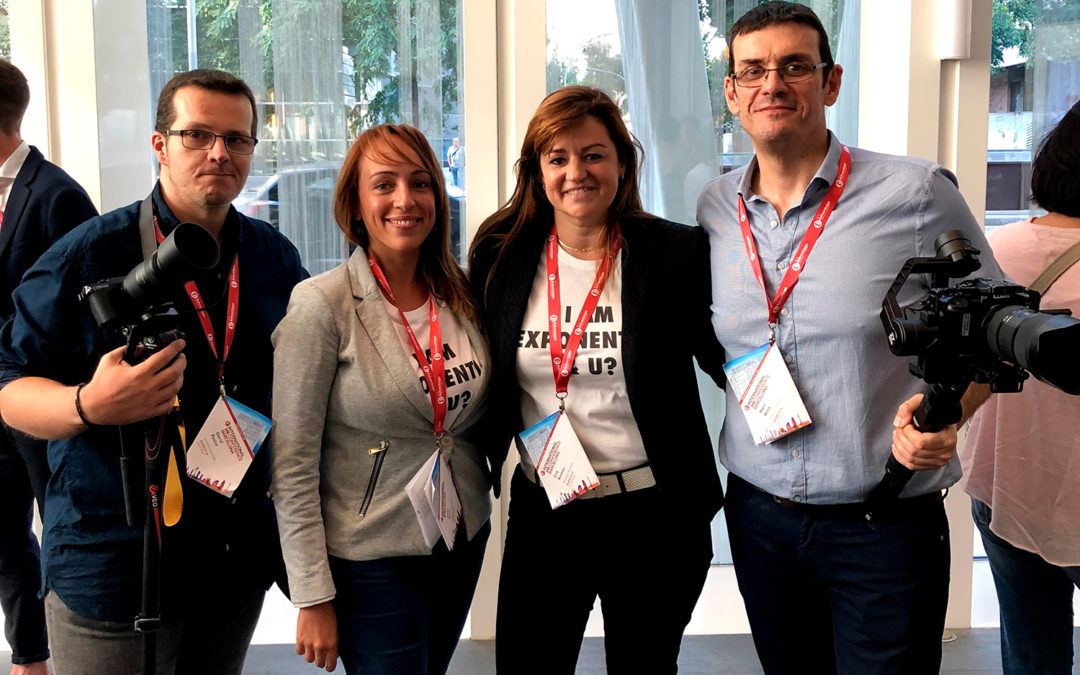 El equipo Barber en la 5th International HR Conference in Barcelona